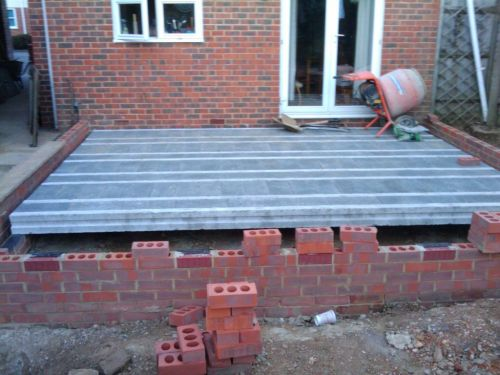 Beam And Block Floor >> Installing suspended block and beam floor on a damp proof course layer - My Extension