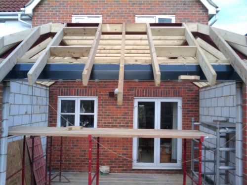 Fitting The Soffits And Fascia My Extension