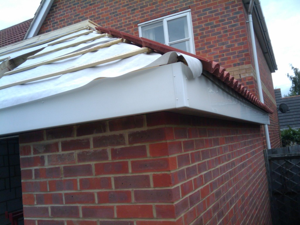 Insulating The Flat Roof And Tiling The Pitched Roof My