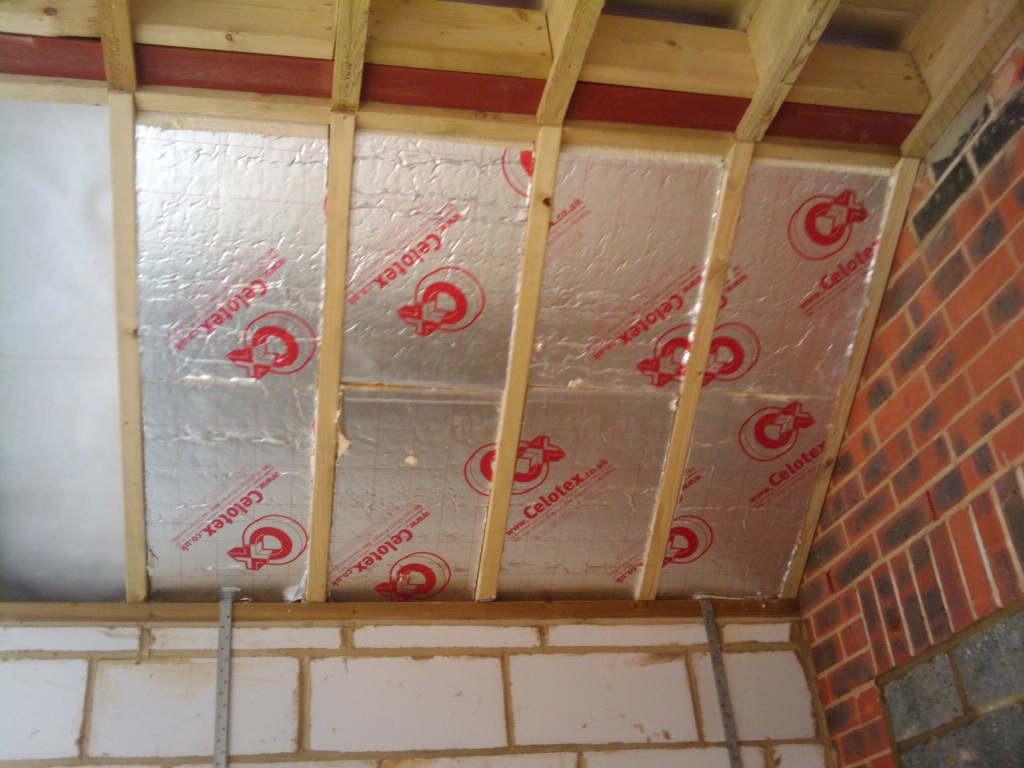 Insulating The Vaulted Ceiling Roof My Extension