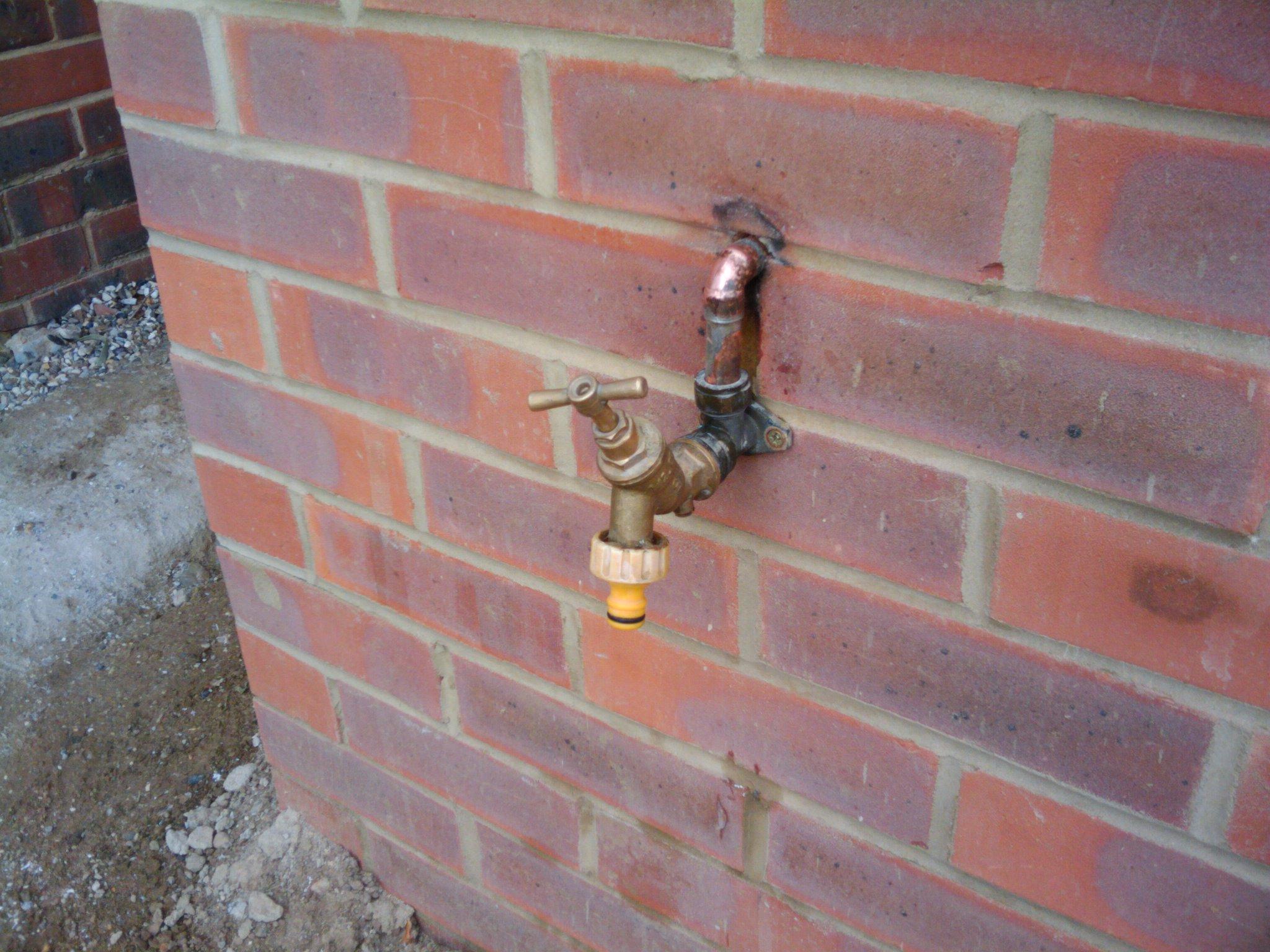 Flashing to the plumber