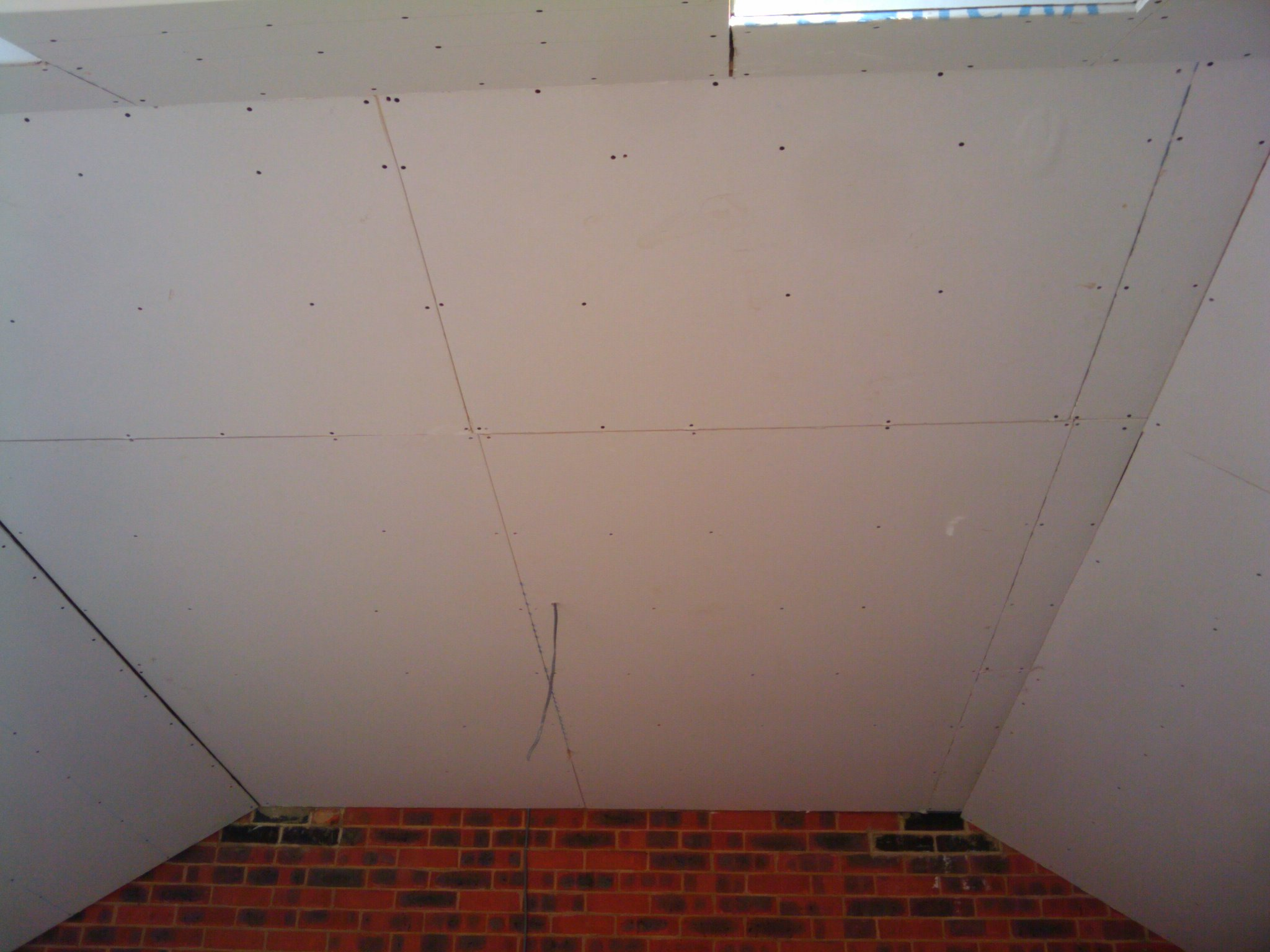 Plasterboard Fixed By Dot And Dab My Extension