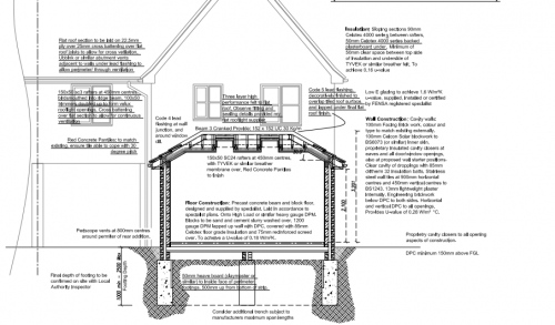 Hiring an architect to draw the extension plans my extension for House extension drawings