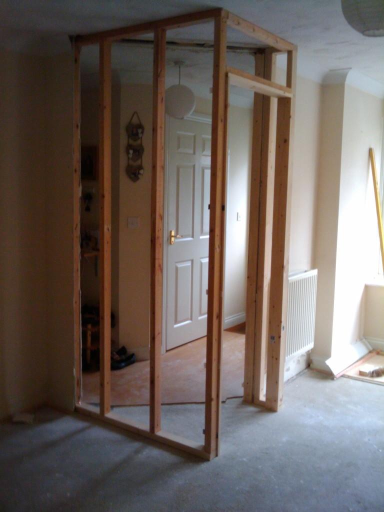 New kitchen entrance