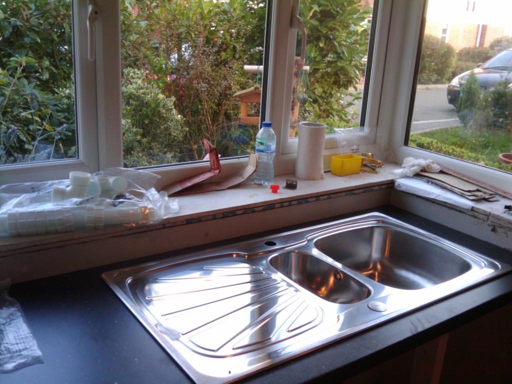 Lamona sink - looks lovely, but a bit flimsy