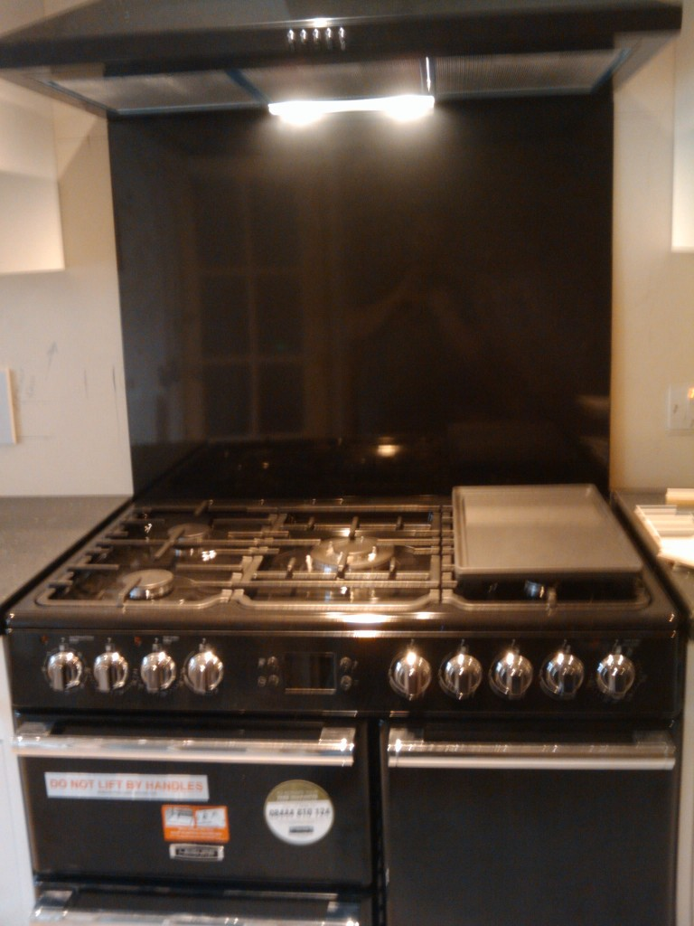 Oven with the griddle and fry thing