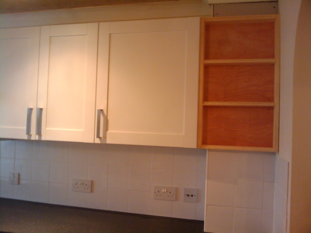 Shelves, to be painted white