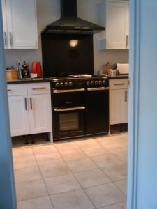 Kitchen / range cooker