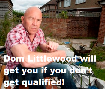 Dom Littlewood from Channel 5's Cowboy Builders
