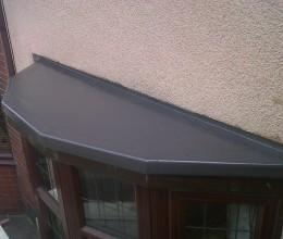 GRP fiberglass flat roofing