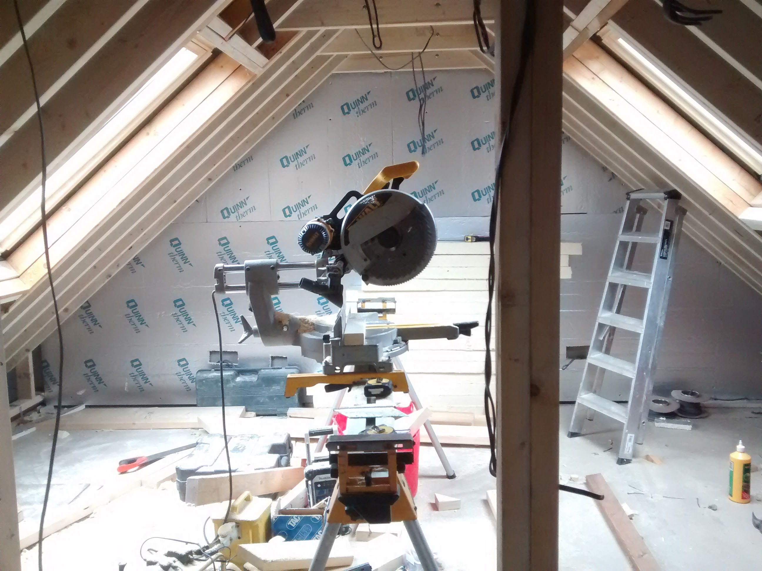 loft conversion on the party wall