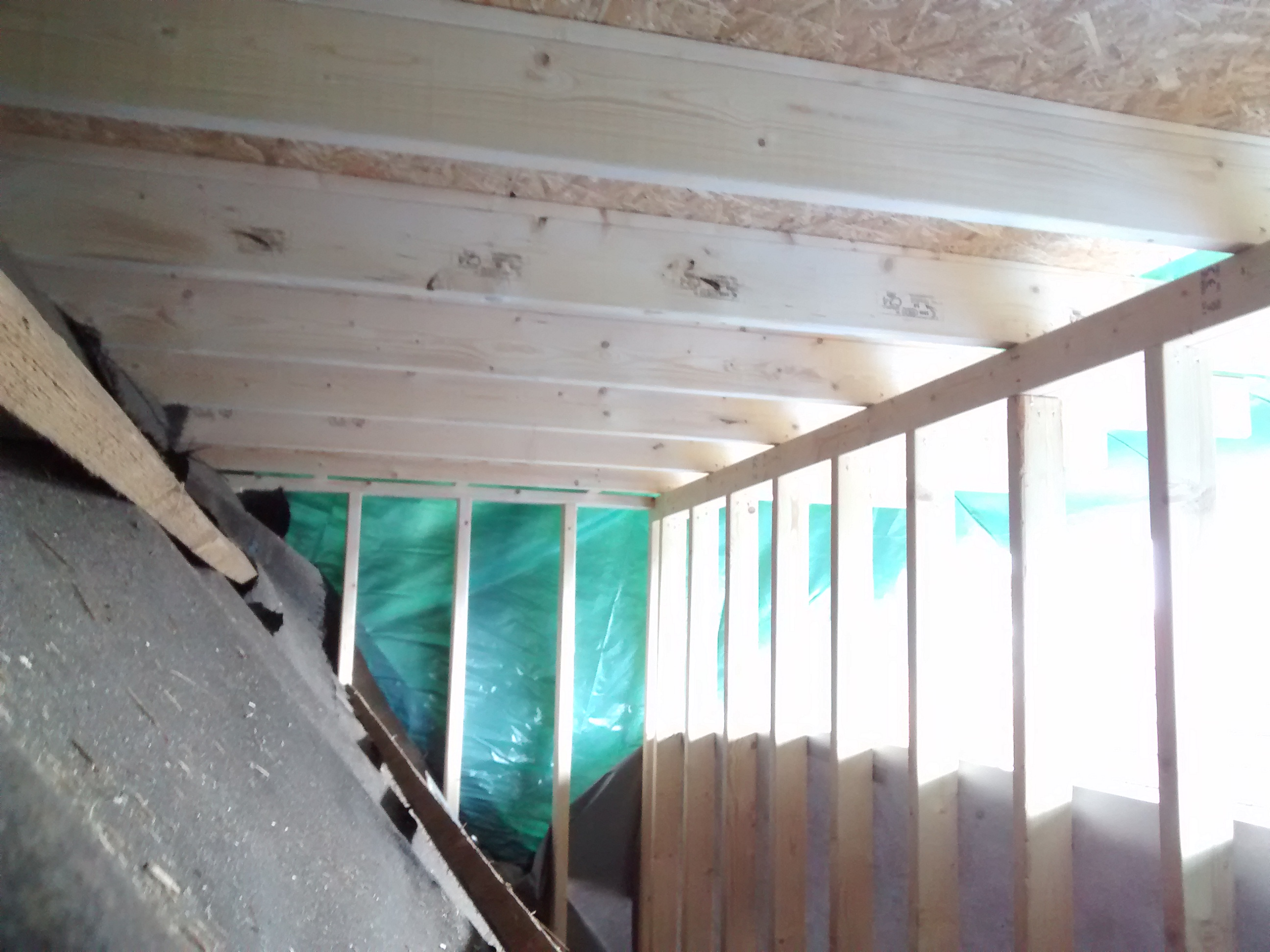 roof dormer construction