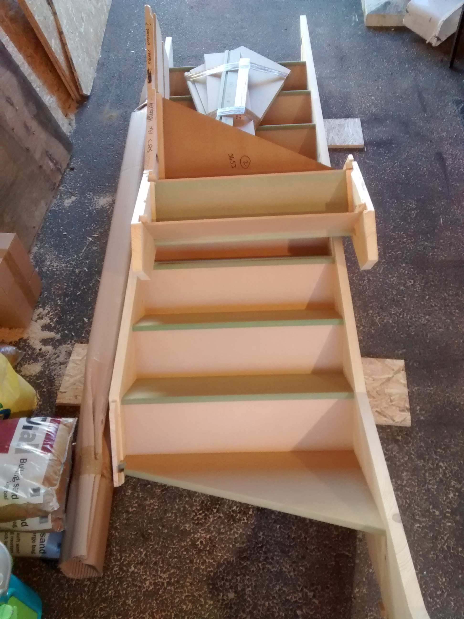 ready made loft stairs