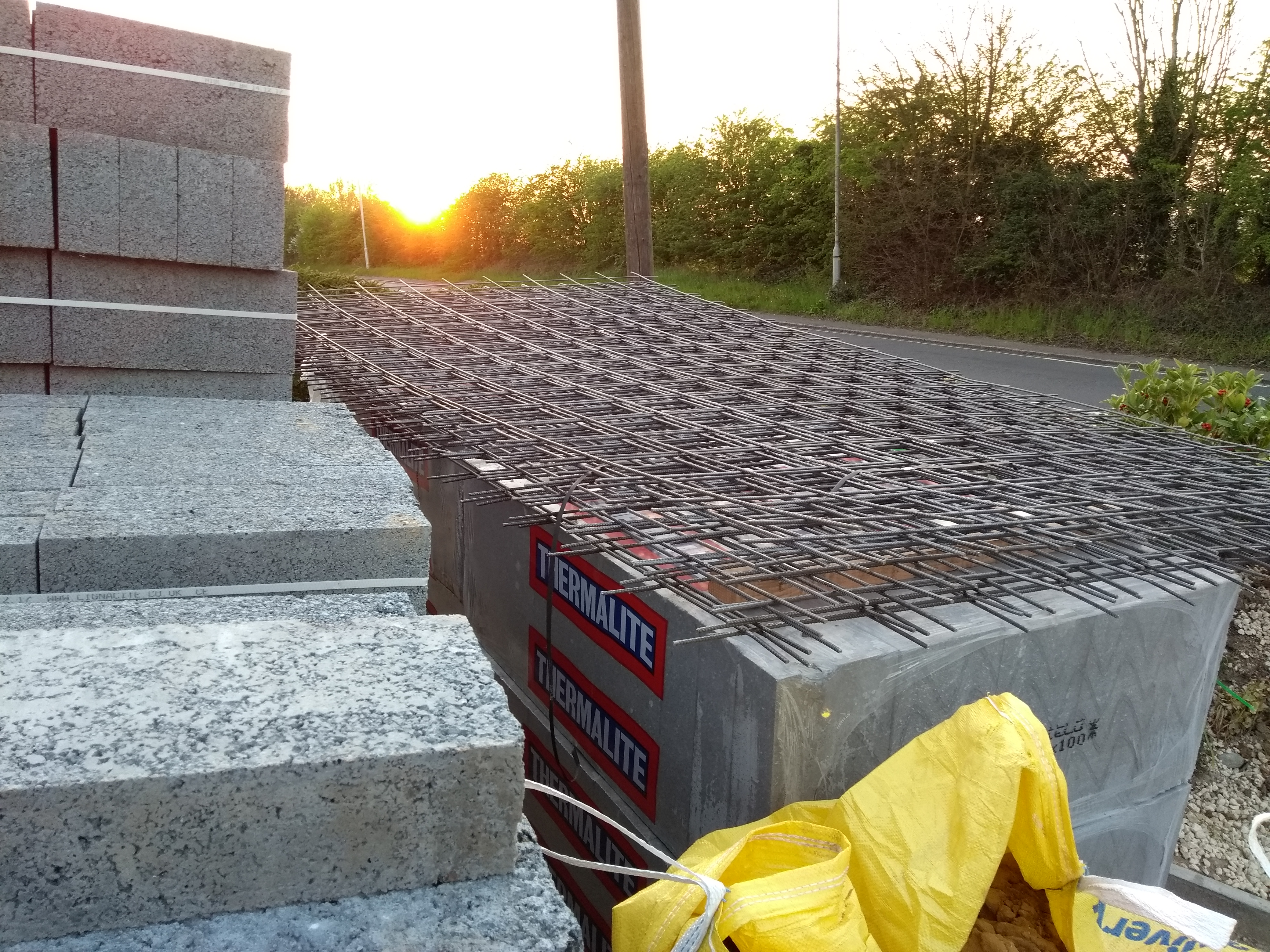 steel reinforcing mesh