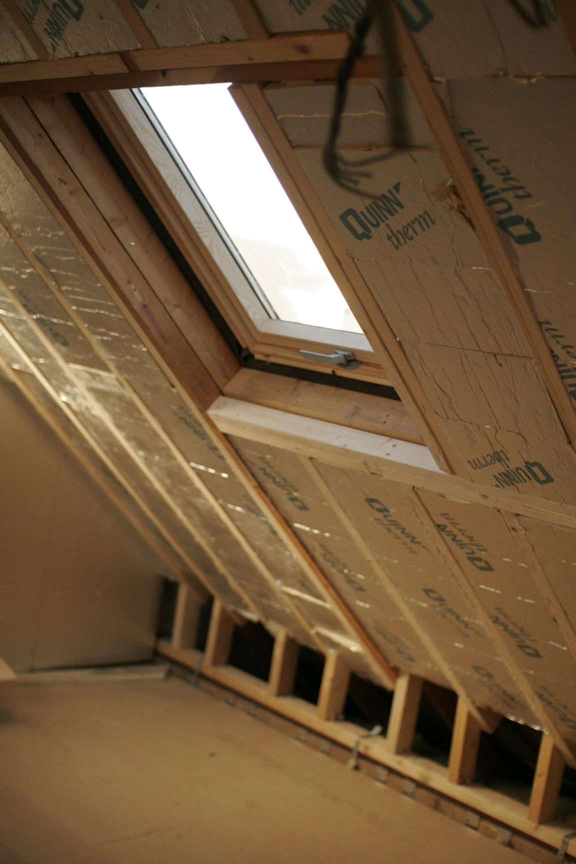 insulation and velux window