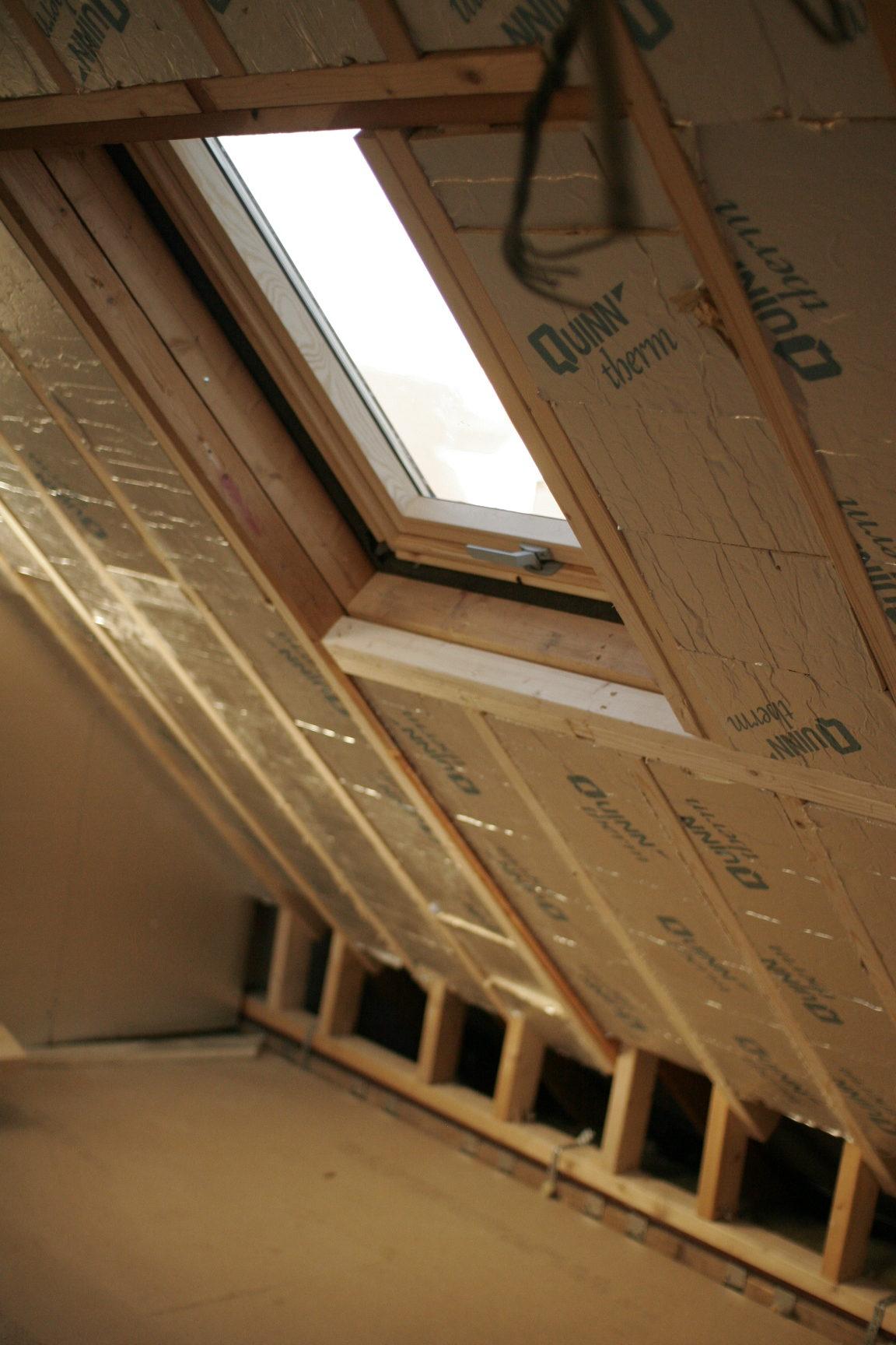 insulation and velux window