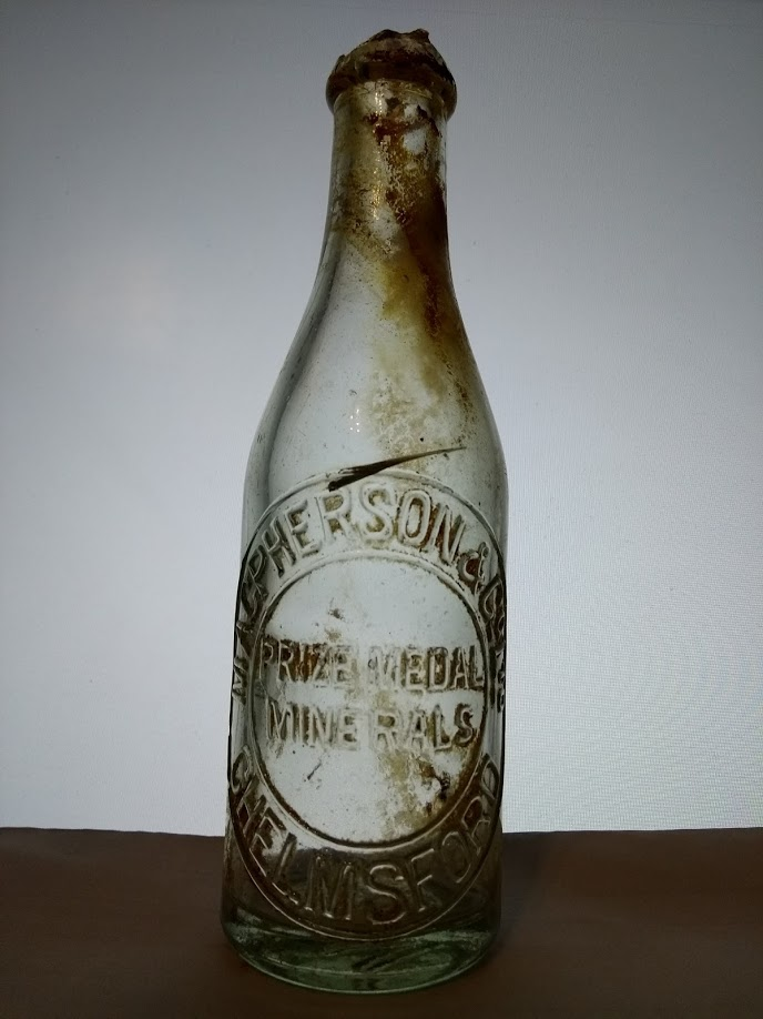 MacPherson and Co Ltd Chelmsford Mineral Drink