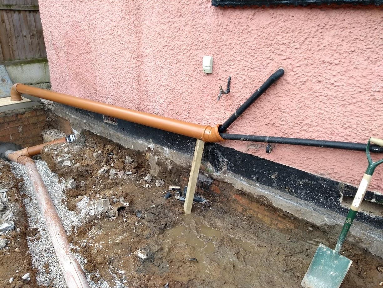 temporary drain